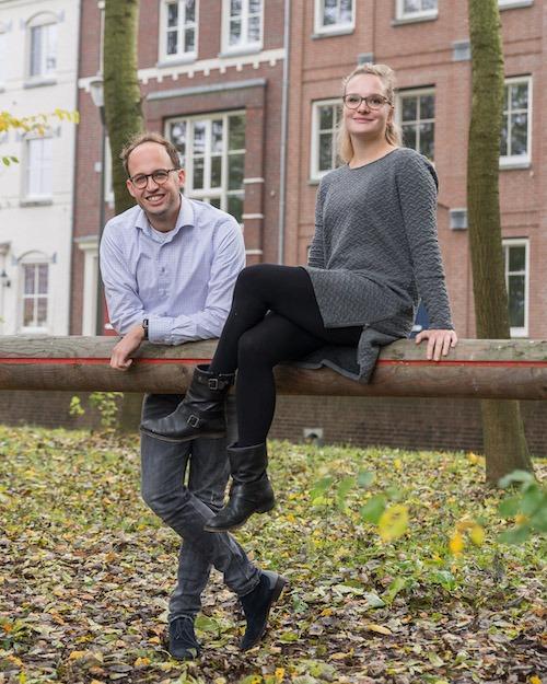 Romy van der Sande en Koen Chatrou