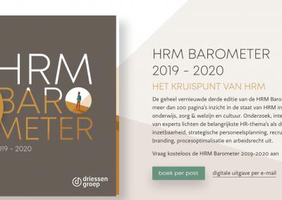 HRM Barometer voor Driessen